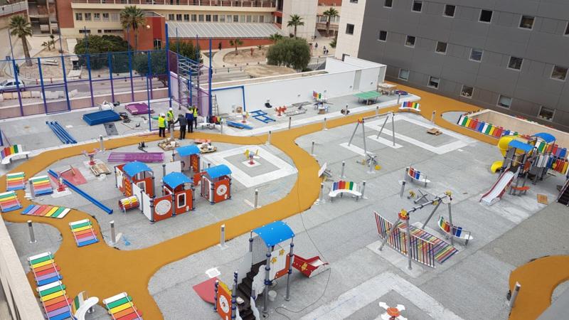Construcción parque