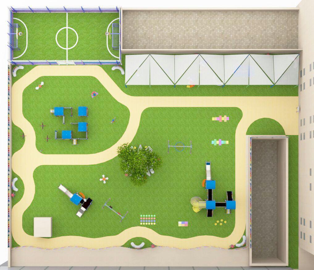 Infografía parque